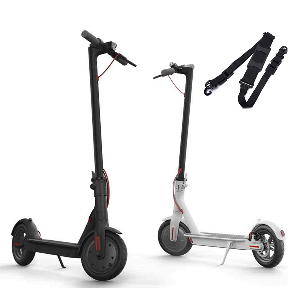 Kingwon Scooter Correa de hombro Cinturón de transporte portátil Adecuado para niños Bicicletas Bicicleta plegable Xiaomi Mijia M365 Patinetes ...