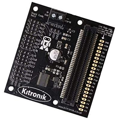 Kitronik 16 Servo Driver Board for The BBC Micro:bit: Toys & Games