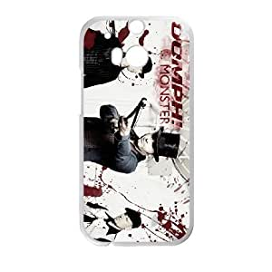HTC One M8 Cell Phone Case Covers White Oomph P5K3T