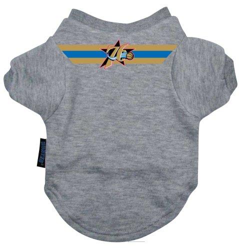 NBA Philadelphia 76ers Pet T-Shirt, Team Color, Large