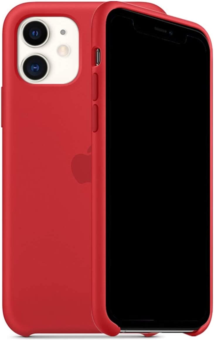 ForH&U Silicone Case Compatible for iPhone 11, Liquid Silicone Non-Slip Case Compatible with iPhone 11-6.1 inch (Red)