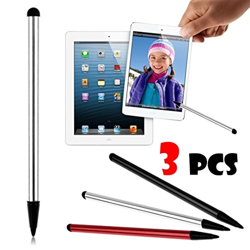 Stylus Pen,AutumnFall 3PCS Universal Double-end Touch Screen Pen Stylus For iPhone iPad For Samsung Tablet Phone PC (multicolor) (Stylus End)