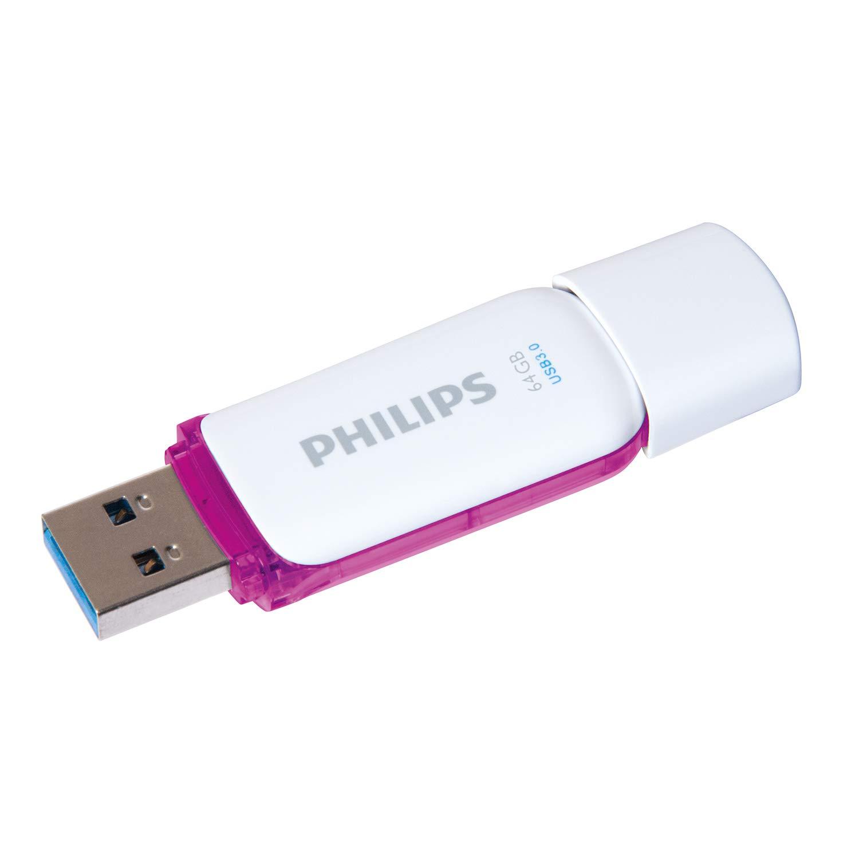 Philips Snow Usb Flash Drive 64 Gb 30 Purple Disc Toshiba Electronics
