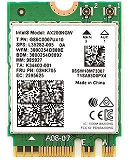 Killer Wi-Fi 6 AX1650 Module Dual Band 2x2 Wi-Fi 6//11AX Bluetooth 5.0 M.2//NGFF