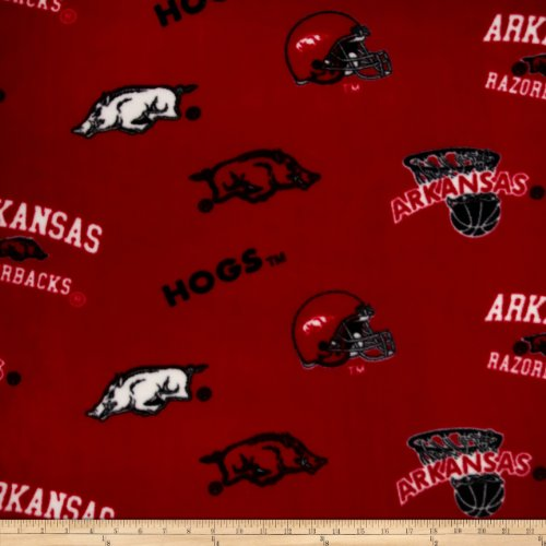 Collegiate Fleece University of Arkansas Red/Black