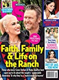 US Weekly Magazine (June 10, 2019) Gwen Stefani & Blake Shelton Faith Family & Life On The Ranch