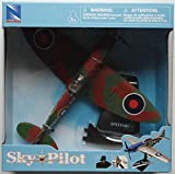 New 1:48 NEW RAY SKY PILOT COLLECTION - ZERO FIGHTER & SPITFIGHTER Model By NEW RAY TOYS Set of 2 Planes