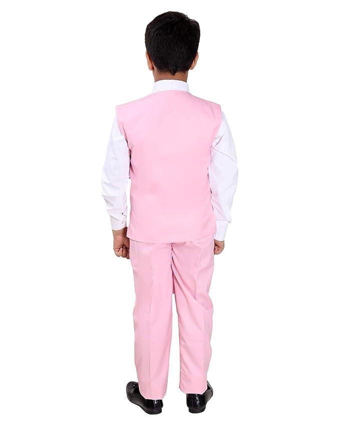 Fourfold Juego de 3 Piezas con Camisa, pantalón, Corbata y Chaleco ...