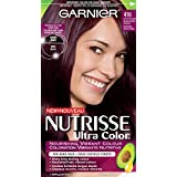 Garnier Nutrisse Ultra Color Haircolor, 416 Intense Violet