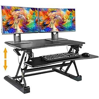 Amazon Com 36 Quot Adjustable Height Standing Office Desk