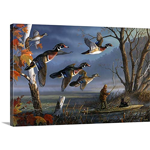 Woodies on The Wing Canvas Wall Art Print, 24