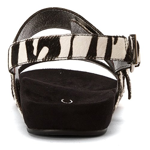 Zebra Samar Sandals 342 Leather Vionic Womens XTnOUO7