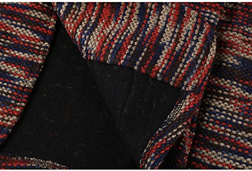 Cappotto autunno e inverno modelli arancione miscelazione tessuto tuta da uomo Slim Leisure Suit cappotto