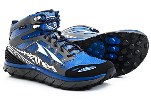 Altra Men's Lone Peak 3 Mid Neo Trail Running Shoe, Electric Blue - 9.5 D(M) US