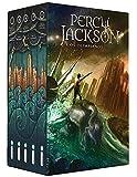 capa de Box Percy Jackson e os Olimpianos