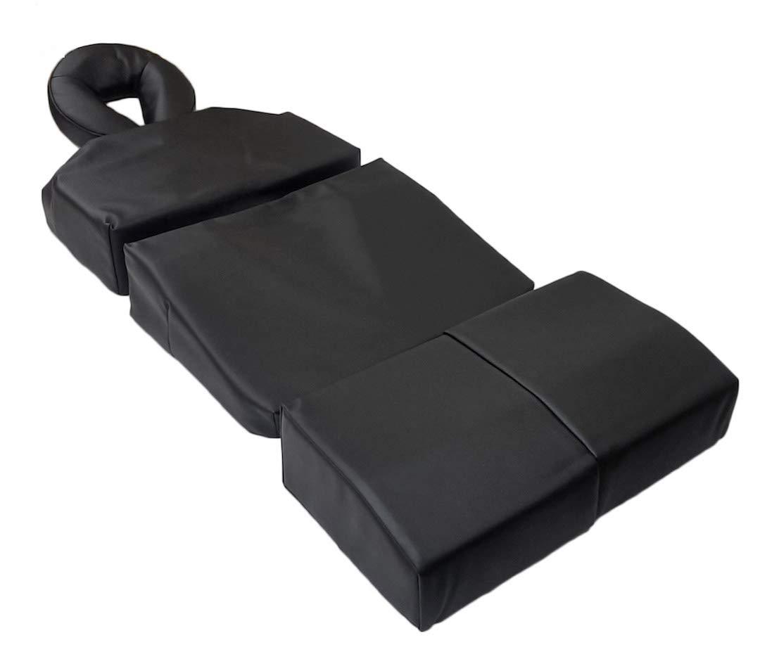 DevLon NorthWest Pregnancy Massage Cushion Set Headrest Full Body Bolster Full Body Package Black by DevLon NorthWest