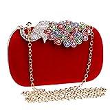 Symbolove Womens Modern Top Grade Evening-handbags Exquisite Cabinet Clutch Bag For Womens-C1
