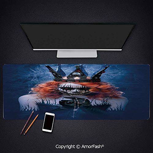 Heat Transferred Printing Mouse Pad for Office and Home,Non-Slip Rubber,0.16inch Thick,31.5