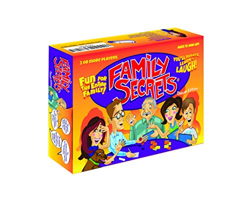 Family Secrets - The Perfect Cross-Generational Family Game. Opens Up Uninhibited Dialogue Between Kids / Teens & Adults / Parents. Deluxe Edition.]()