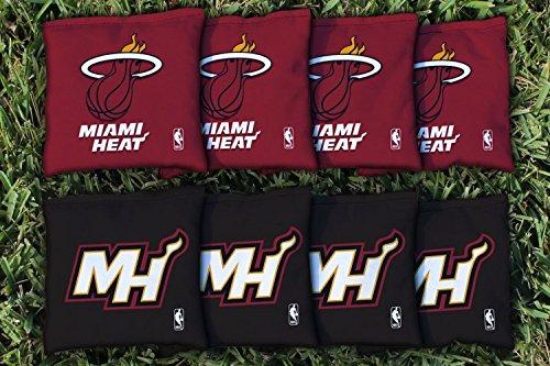 NBA Replacement All Weather Cornhole Bag Set NBA Team: Miami Heat