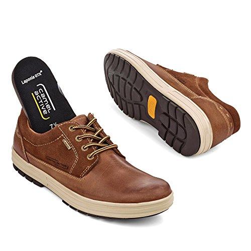 Hombres Camello 04 Cordones Laponia Gtx Zapatos De Los Activa 42 Brown Tuvo Con 395 11 rgazqwxgn1