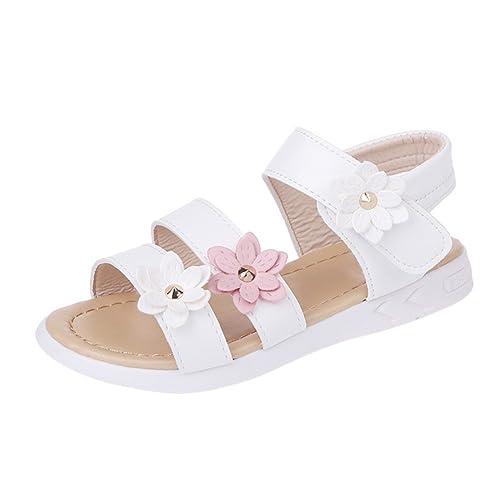 Amazon.com: Weixinbuy - Sandalias de verano para bebé o niña ...