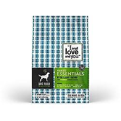 """I & Love & You"" Naked Essentials Lamb & Bison Grain Free Dry Dog Food, 11 Lb"