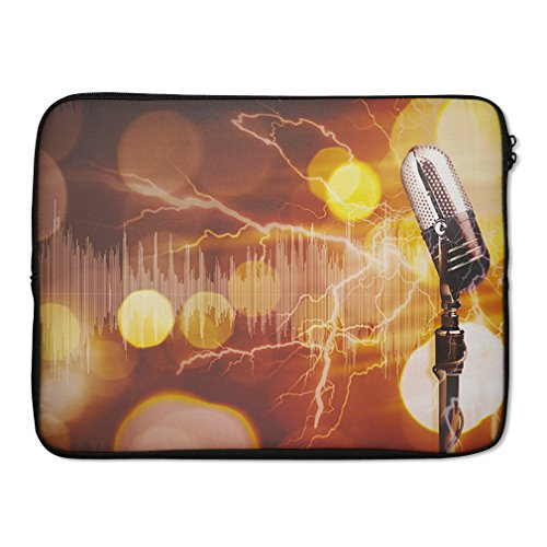 Style in Print Party Performance Microphone Abstract Lapt...