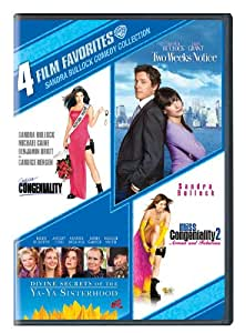 4 Film Favorites: Sandra Bullock (Divine Secrets of the Ya-Ya Sisterhood, Miss Congeniality 2, Miss Congeniality: Deluxe Edition, Two Weeks Notice)