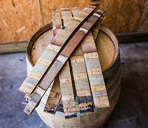 Authentic Red Wine Barrel Staves (Barrel Stave Furniture)
