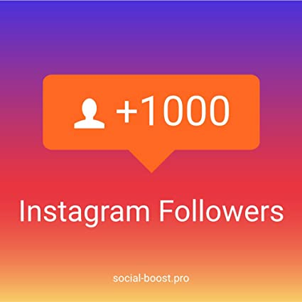 1000 Instagram Followers High Quality + 1000 Likes for free