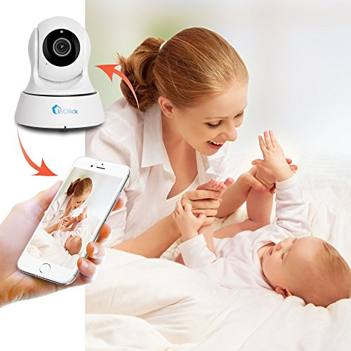 InCliick-X3-Pro-Wireless-Security-Camera-960P-IP-Camera-Home-Surveillance-Camera-Pan-Tilt-with-Two-Way-Audio-Night-Vision-Motion-Detection-Baby-Pet-Video-Monitor-Nanny-Cam-iOS-Android-APP