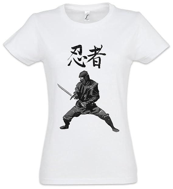 Ninja I Girlie Woman T-Shirt - Samurai Warrior Way Sepuku ...