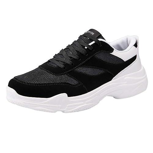 b8cf0c7d151a Oyedens Uomo Donna Scarpe da Ginnastica Unisex Corsa Sportive Running  Sneakers Casual all'Aperto