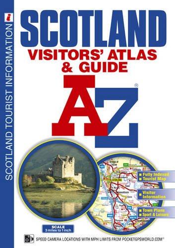 Scotland Visitors' Atlas and Guide (A-Z Street Atlas)