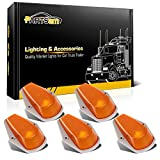 1996 f250 cab lights - Partsam 5x Roof Running Clearance Light Cab Marker Light Amber Covers w/ Base Housing for 1980 - 1997 Ford F-150 F-250 F-350 F Super Duty Truck