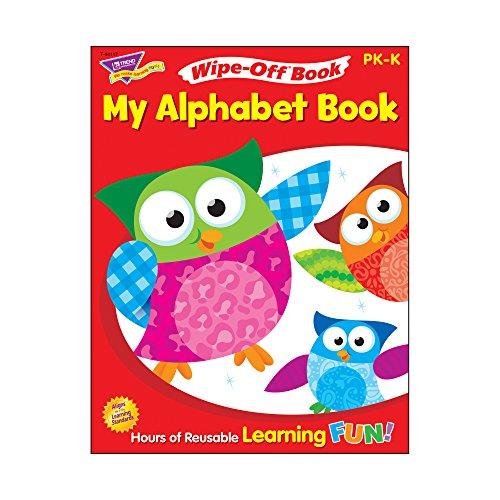 Trend Enterprises My Alphabet Owl-Stars! Wipe-Off (Trend Book)