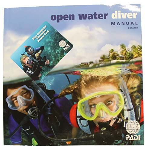 PADI Open Water Diver Manual with Dive Computer Simulator Acess Card (Open Padi Water)