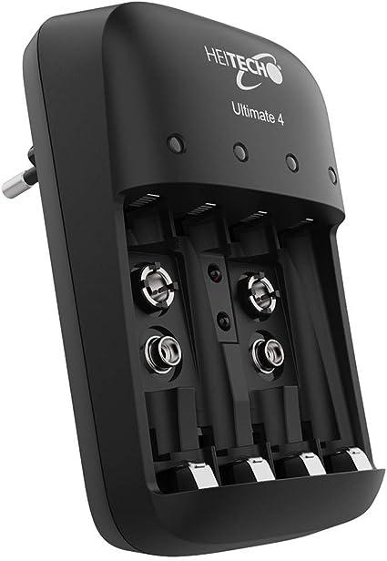 Heitech Akku Ladegerät Ultimate 4 Batterieladegerät Elektronik