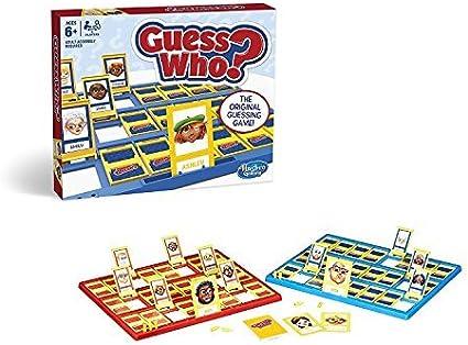 Hasbro Gaming - ¿Quién Es Quién?, Juego de Habilidad (05801) (versión en inglés): Amazon.es: Juguetes y juegos