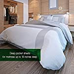 Cosy-House-Collection-Premium-Bamboo-Sheets-Deep-Pocket-Bed-Sheet-Set-Ultra-Soft-Cool-Bedding-Hypoallergenic-Blend-from-Natural-Bamboo-Fiber-4-Piece-Queen-Taupe