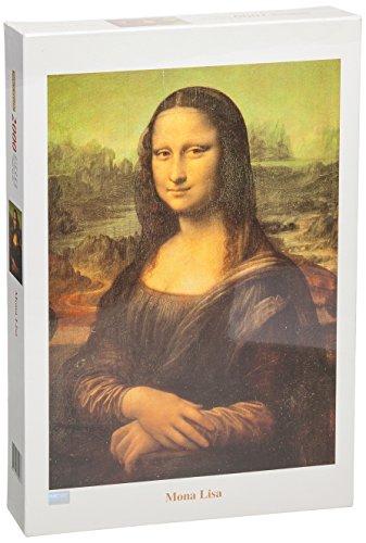 Tomax Mona Lisa 2000 Piece Leonardo da Vinci Jigsaw Puzzle