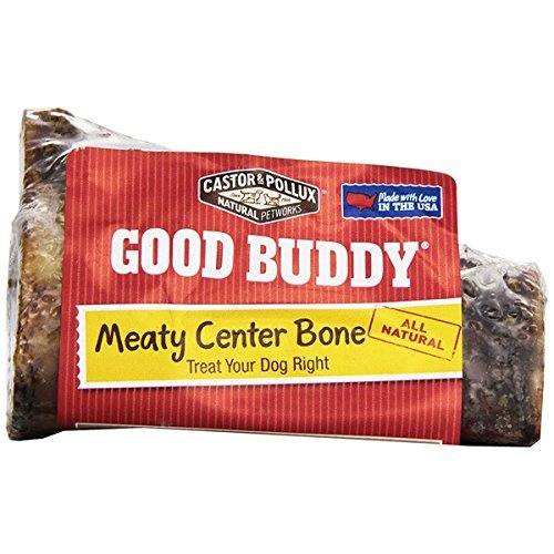 Good Buddy Meaty Center Bone Treats For Dogs, 5-Ounce ()