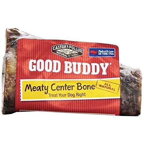Good Buddy Cookies - Good Buddy Meaty Center Bone Treats for Dogs, 5-Ounce