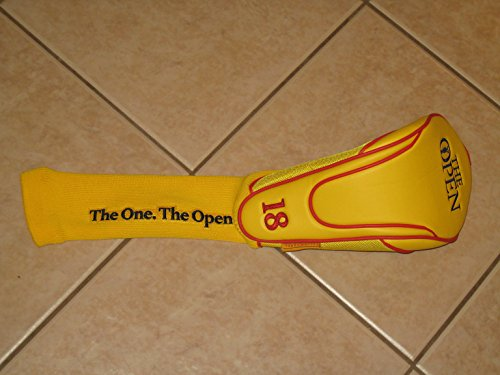 British Open Driver Headcover - The Open Championship - Yellow Label