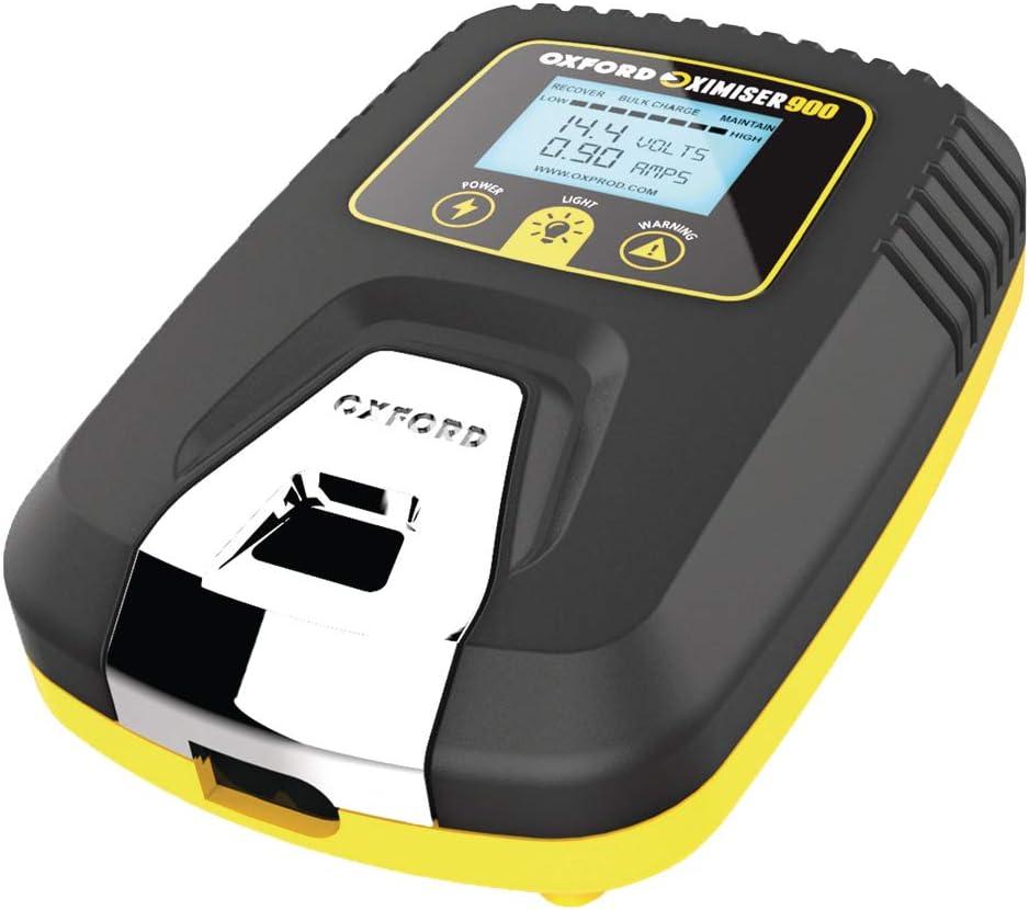 Oxford Essential Syst/ème de contr/ôle des Batteries EL570 Noir//Jaune