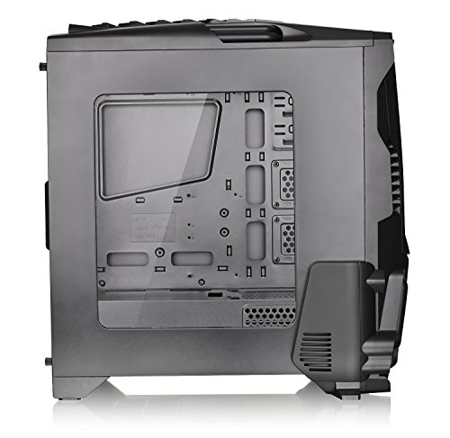 Thermaltake Versa N24 Black ATX Mid Tower Gaming Computer Case Chassis with Power Supply Cover, 120mm Rear Fan preinstalled. CA-1G1-00M1WN-00 by Thermaltake (Image #13)