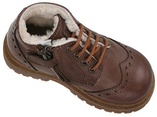 Ocra pour Chaussures Nussbraun 33176 Braun 105 à ville de lacets garçon f1fpqwr