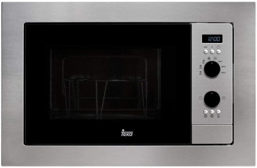 Teka MS 620 BIH Microondas sin grill, 1100 W, 20 litros, Otro, Gris
