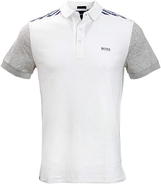 Hugo Boss Baby Boys White Short Sleeve Polo